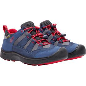Keen Hikeport WP Chaussures Enfant, dress blues/firey red